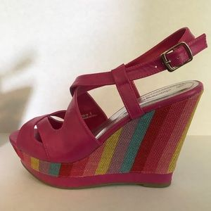 Charming Charlie Shoes - Charming Charlie sandal wedges